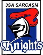 3SA Sarcasm Table logo