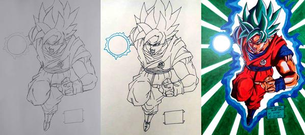 Super Saiyan Blue - Goku from DRAGON BALL Z: RESURRECTION 'F'
