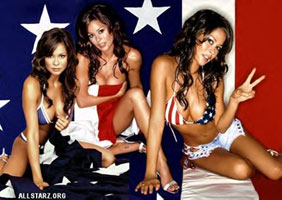 Brooke Burke... Unofficial Sarcasm Table mascot.