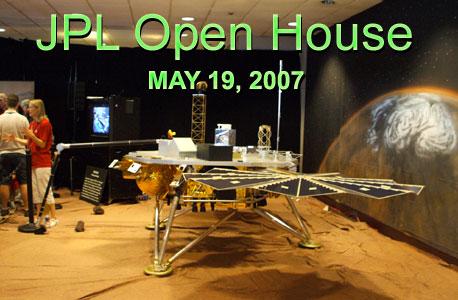 The Phoenix Mars Lander.