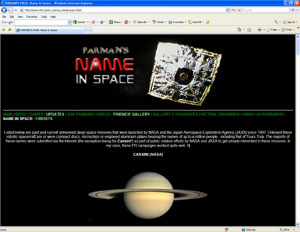 Name In Space