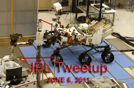 The Curiosity Mars Rover.